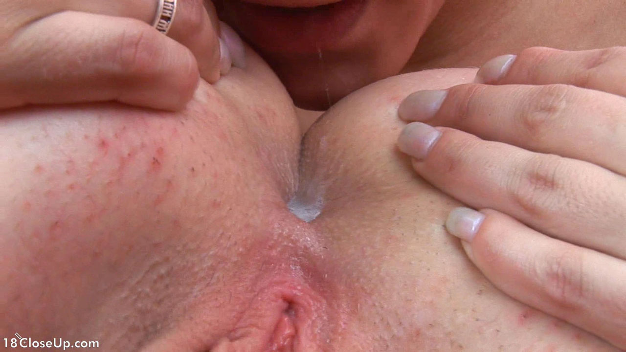 very closeup pussy licking