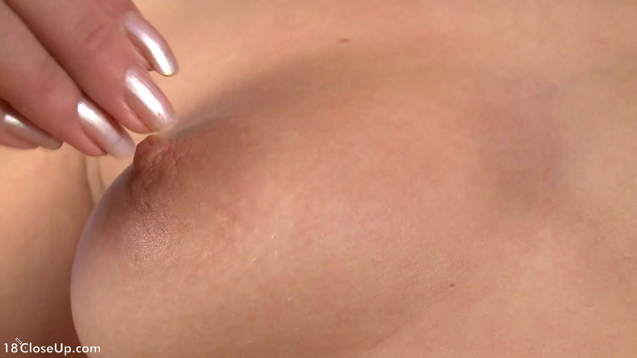 Clit close up cum